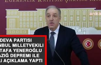 Milletvekili Yeneroğlu Elazığ Depremi İle İlgili Açıklama Yaptı