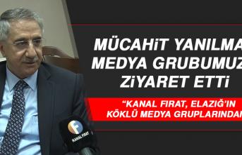 """Mücahit Yanılmaz: """"Kanal Fırat, Elazığ'ın köklü medya gruplarından"""""""