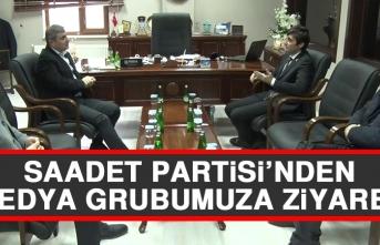 Saadet Partisi'nden Medya Grubumuza Ziyaret