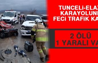 Tunceli-Elazığ Karayolunda Feci Trafik Kazası