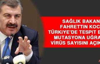 Türkiye'de Kaç Kişide Mutasyonlu Virüs Tespit Edildi?