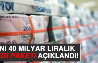 Yeni 40 Milyar Liralık Kredi Paketi Açıklandı!