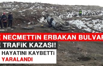 Yine Necmettin Erbakan Bulvarı Yine Trafik Kazası!
