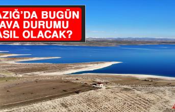 5 Şubat'ta Elazığ'da Hava Durumu Nasıl Olacak?