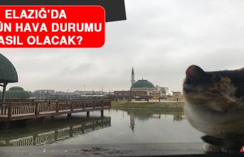 9 Şubat'ta Elazığ'da Hava Durumu Nasıl Olacak?