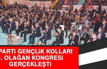 AK Parti Elazığ 6. Gençlik Kolları Olağan Kongresi Gerçekleşti