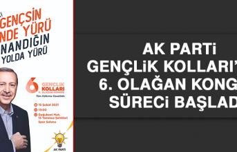 AK Parti Gençlik Kolları'nda, 6. Olağan Kongre Süreci Başladı