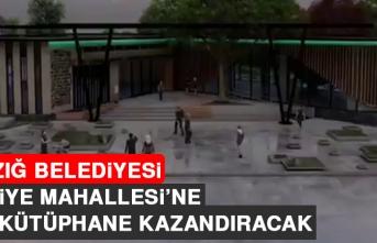 Elazığ Belediyesi, Rızaiye Mahallesi'ne Dev Kütüphane Kazandıracak