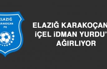 Elazığ Karakoçan FK, İçel İY'nu Ağırlıyor