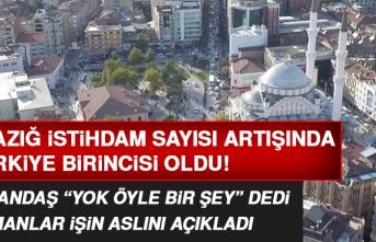 Elazığ Sigortalı Çalışan Sayısındaki Artışla Türkiye Birincisi Oldu!