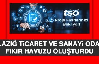 Elazığ TSO Proje Havuzu Oluşturdu