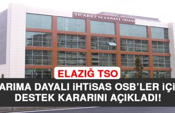 Elazığ'da Faaliyete Geçecek Sanayi Bölgeleri Belirlendi!