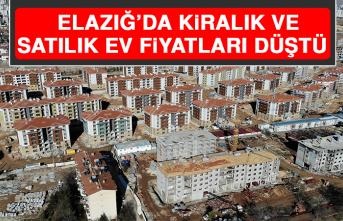 Elazığ'da Kiralık ve Satılık Ev Fiyatları Düştü