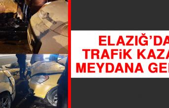 Elazığ'da Trafik Kazası Meydana Geldi!