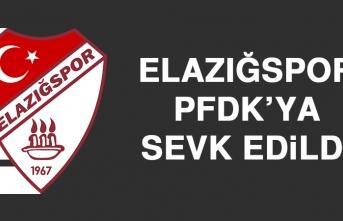 Elazığspor PFDK'ya Sevk Edildi