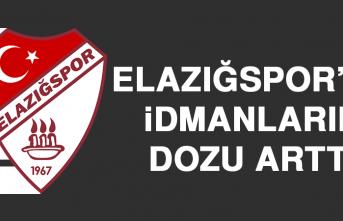 Elazığspor'da İdmanların Dozu Arttı