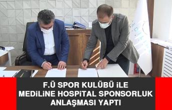 F.Ü Spor Kulübü İle Mediline Hospital Sponsorluk Anlaşması Yaptı