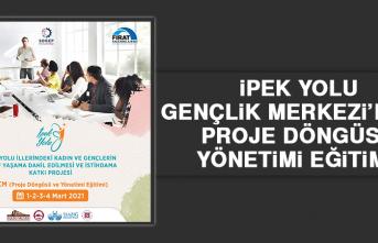 İpek Yolu Gençlik Merkezi'nden Proje Döngüsü Yönetimi Eğitimi