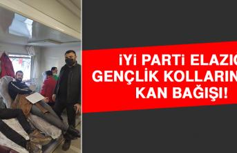 İYİ Parti Elazığ Gençlik Kollarından Kan Bağışı