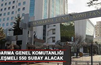 Jandarma Genel Komutanlığı Sözleşmeli 550 Subay Alacak