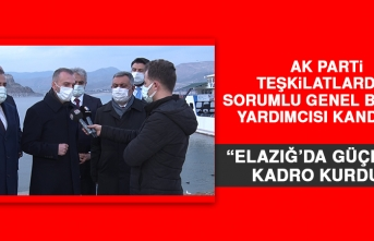 Kandemir: Elazığ'da Yapılanlar Herkesin Gözünün Önünde
