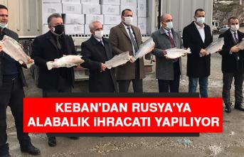 Keban'dan Rusya'ya Alabalık İhracatı Yapılıyor