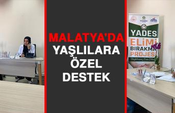 Malatya'da Yaşlılara Özel Destek