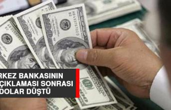 Merkez Bankasının Faiz Açıklaması Sonrası Dolar Düştü