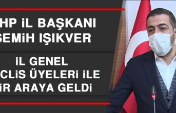 MHP İl Başkanı Semih Işıkver, İl Genel Meclis Üyeleri İle Bir Araya Geldi