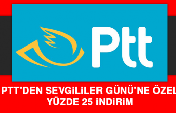 PTT'den Sevgililer Günü'ne Özel Yüzde 25 İndirim