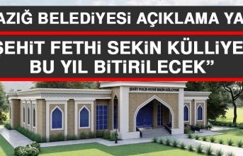 """""""Şehit Fethi Sekin Külliyesi Bu Yıl Bitirilecek"""""""
