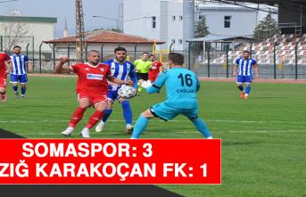 Somaspor: 3 - Elazığ Karakoçan FK: 1