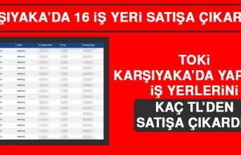 TOKİ Karşıyaka'da Yapılan İş Yerlerini Kaç TL'den Satışa Çıkardı?
