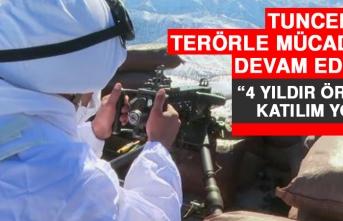Tunceli'de Terörle Mücadele Devam Ediyor