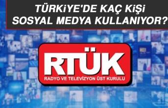 Türkiye'de Kaç Kişi Sosyal Medya Kullanıyor?