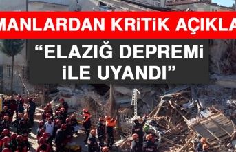 Uzmanlardan Kritik Açıklama: Elazığ Depremi İle Uyandı