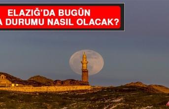 29 Mart'ta Elazığ'da Hava Durumu Nasıl Olacak?
