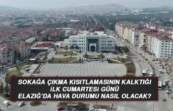 6 Mart'ta Elazığ'da Hava Durumu Nasıl Olacak?