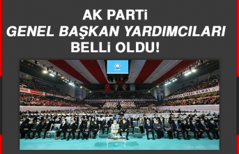AK Parti'nin Genel Başkan Yardımcıları Belli Oldu!
