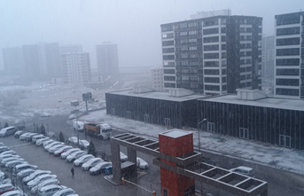 Ankara'da kar yağışı etkili oluyor