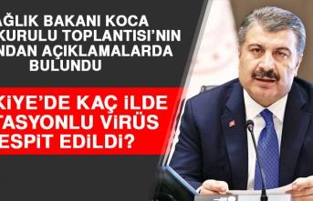 BAKAN KOCA BİLİM KURULU TOPLANTISI'NIN ARDINDAN AÇIKLAMALARDA BULUNDU