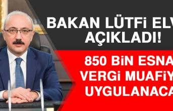 850 Bin Esnafa Vergi Muafiyeti Uygulanacak