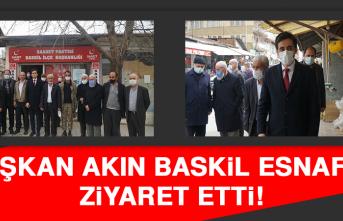 Başkan Akın Baskil Esnafını Ziyaret Etti!