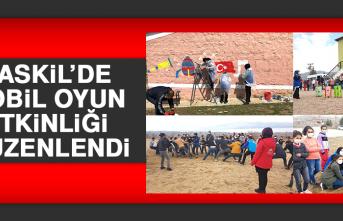 Baskil'de Mobil Oyun Etkinliği Düzenlendi