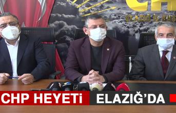 CHP Heyeti Elazığ'da