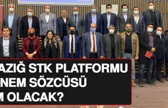 Elazığ STK Platformu Dönem Sözcüsü Kim Olacak?