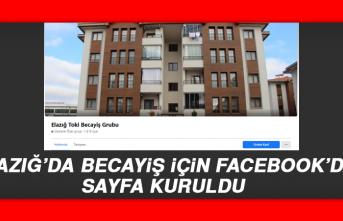 Elazığ'da Becayiş İçin Facebook'da Sayfa Kuruldu