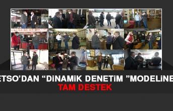 """ETSO'dan """"Dinamik Denetim Modeline Tam Destek"""