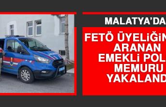 FETÖ Üyeliğinden Aranan Emekli Polis Memuru Yakalandı
