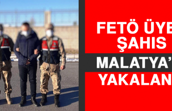 FETÖ Üyesi Şahıs Malatya'da Yakalandı